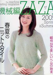 ZAZA SPRING-SUMMER 2005 - Azhalea Let's Knit 1.1 - Picasa ウェブ アルバム