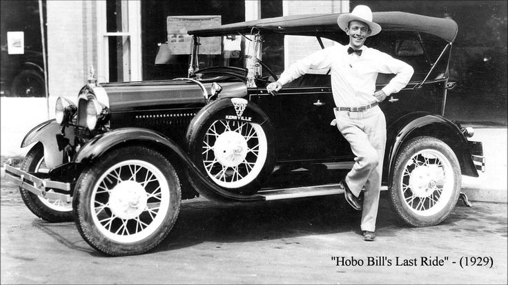 Hobo Bill's Last Ride by Jimmie Rodgers (1929) My Florida daddy would sing this to my sister and I....