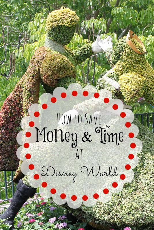 Ways to Save Time and Money at Disney World |  Top 5 Tips to Save Time and Money in Walt Disney World | View post on BargainBriana.com