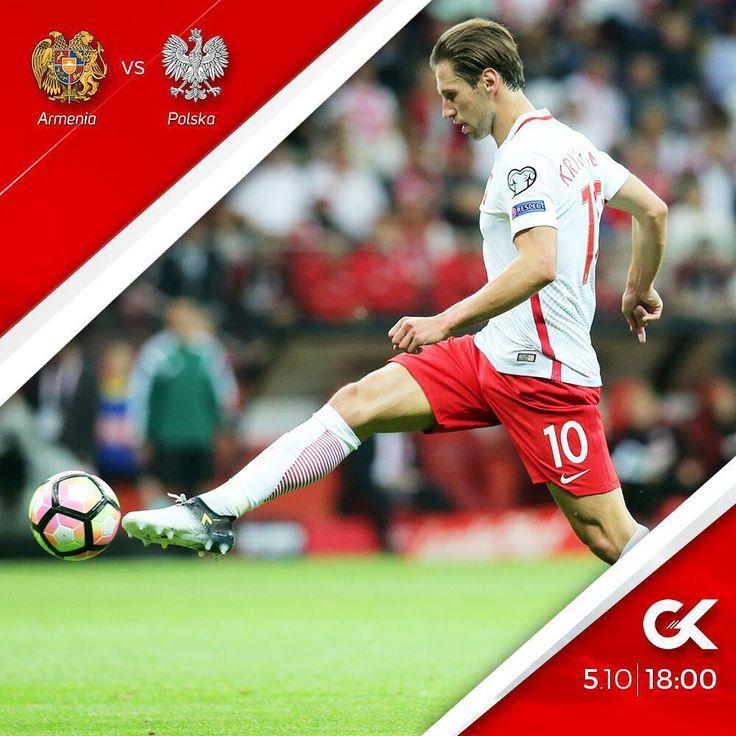 """Polubienia: 9,679, komentarze: 49 – Grzegorz Krychowiak (@grzegorz.krychowiak) na Instagramie: """"#matchday  #ArmPol #roadtorussia"""""""