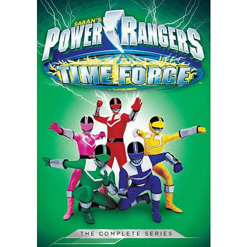 power rangers time force complete series dvd | Power Rangers: Time Force The Complete Series DVD - Shout! Factory ...
