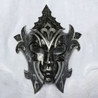 Gladiador máscara de terror para o homem & mulher Máscara Do Partido Do Disfarce do Dia Das Bruxas/Retro Italiano máscara máscara Veneziana