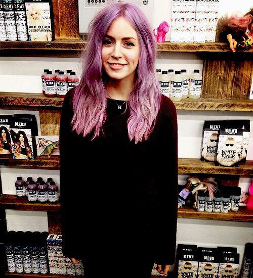 Gemma Styles - Bleach London // i wanna dye my hair this colour so bad