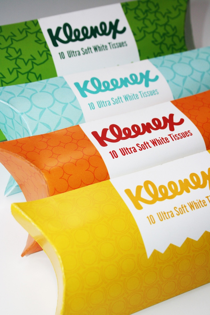 Like these Kleenex #packaging #design? PD