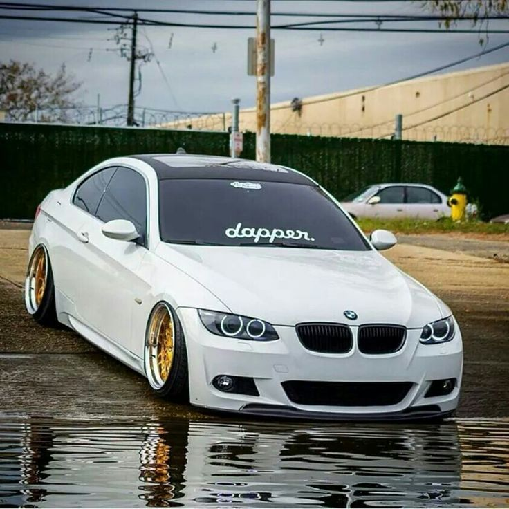 BMW E92 3 Series White Dapper