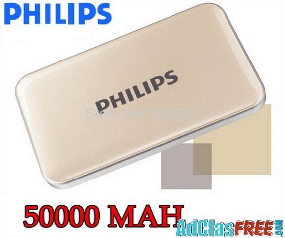 Power Bank 50000mAh Dual USB Charger Battery