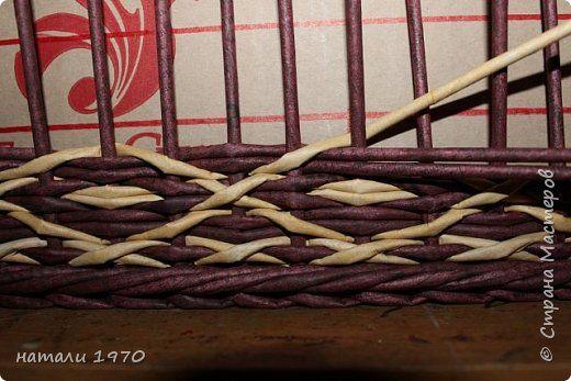 Поделка изделие Плетение накопилось + МК Трубочки бумажные фото 23