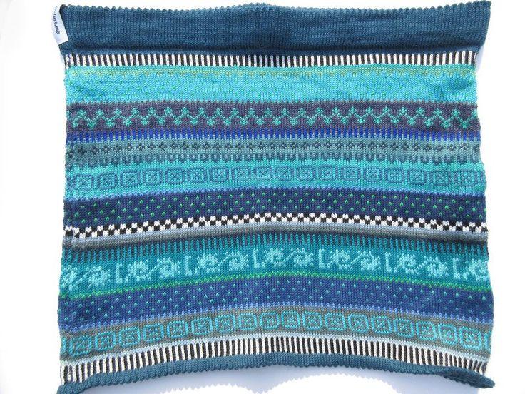 Miniröcke - Bunter Strickrock Satu Gr. S - ein Designerstück von Lotta_888 bei DaWanda