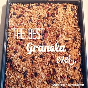 Healthy, Simple Granola Recipe