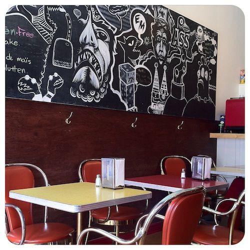 Ta Chido, 5611 avenue du Parc, près de Bernard. Snack bar mexicain, recommandé par Oscar (SSC).Vendredi soir, soirée tacorama.