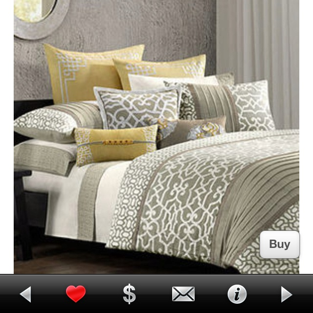 Taupe Yellow Trellis Bedding Duvet Ready For A Change