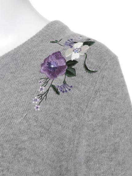 刺繍ニットプルオーバー(ニット)|Lily Brown(リリーブラウン)|ファッション通販|ウサギオンライン公式通販サイト