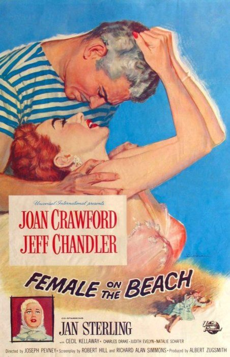 Female on the Beach -- they were completely tapped out for ideas when it came time to name this movie.