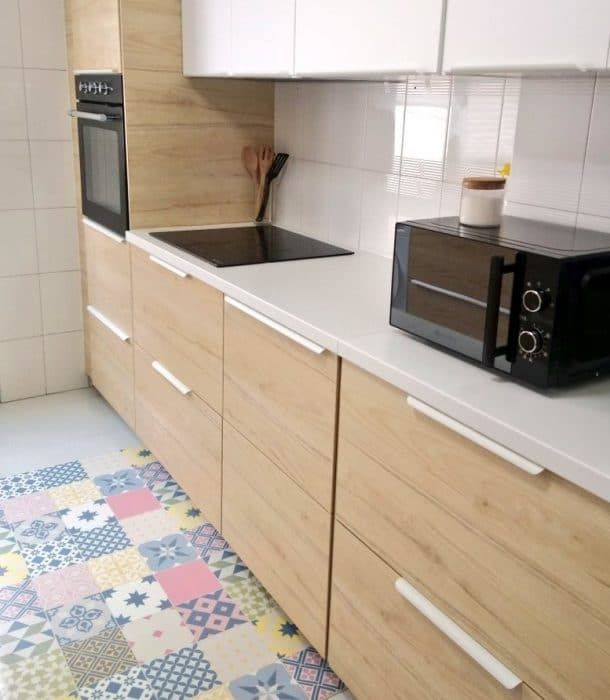 Mi Nueva Cocina De Ikea Diseño Y Precio Madre De Dos Cocina Ikea Encimera Laminada Gabinetes Cocina