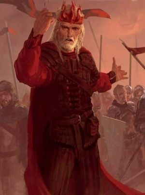 Pin this to your board! - Big Game of Thrones Sale on https://www.world-of-westeros.com/ - Marc Simonetti - King Aerys II Targaryen