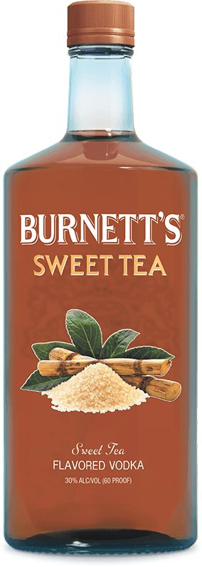 Sweet Tea Burnett's Vodka.