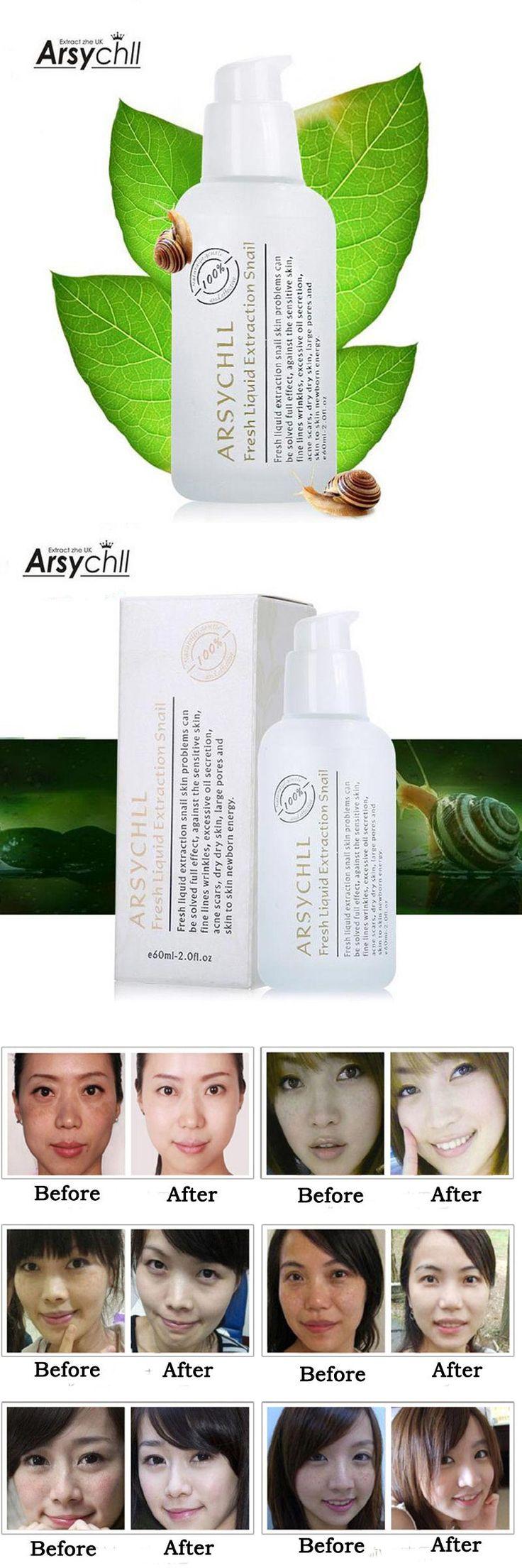 Snail Cream Korean Cosmetics Acne Treatment Whitening Moisturizing Anti Aging Wrinkle Instantly Ageless Creams Beauty Skin Care