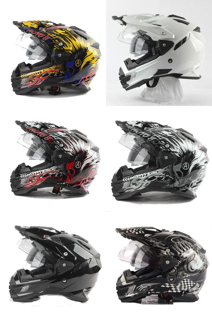 [Visit to Buy] new arrival gray eyes THH tx27 motorcycle helmets mtb downhill cascos motocicleta with dual visor off road motocross helmet DOT #Advertisement