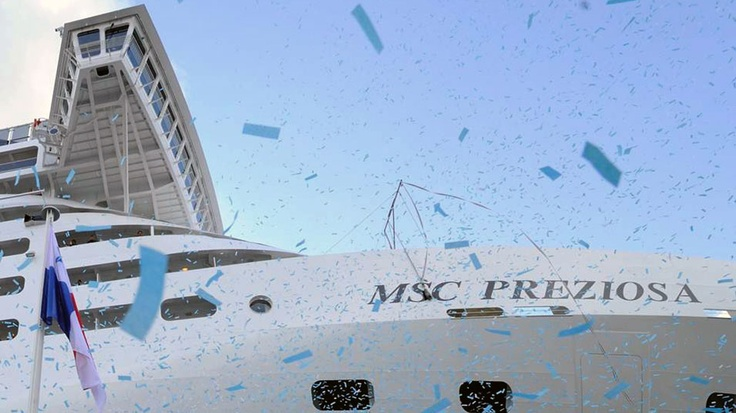 Flag Ceremony Launches New MSC Preziosa | Popular Cruising (Image Copyright © MSC Cruises)
