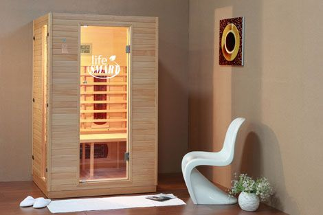 2-Person Infrared Sauna - LS-2P-5CH13 | lifesmart corp