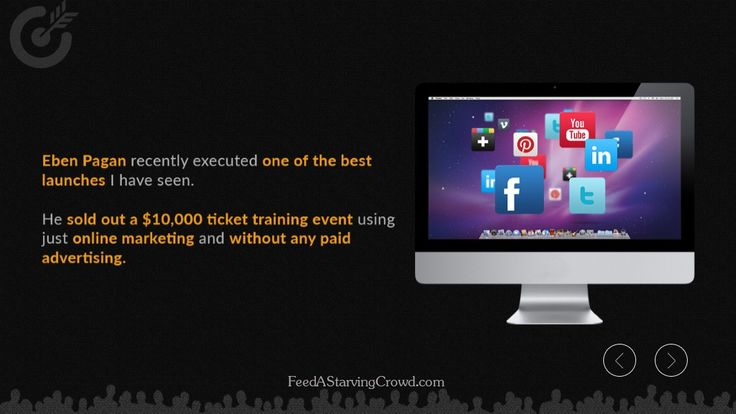 """http://FeedAStarvingCrowd.com - Find out how one business coach spent zero dollars on paid advertising but sold out a multi-million dollar training event by using a creative but powerful media marketing strategy.   This is an excerpt from the new book """"Feed A Starving Crowd"""". You can get 200+ other tips in finding a hungry market completely free by visiting http://FeedAStarvingCrowd.com"""
