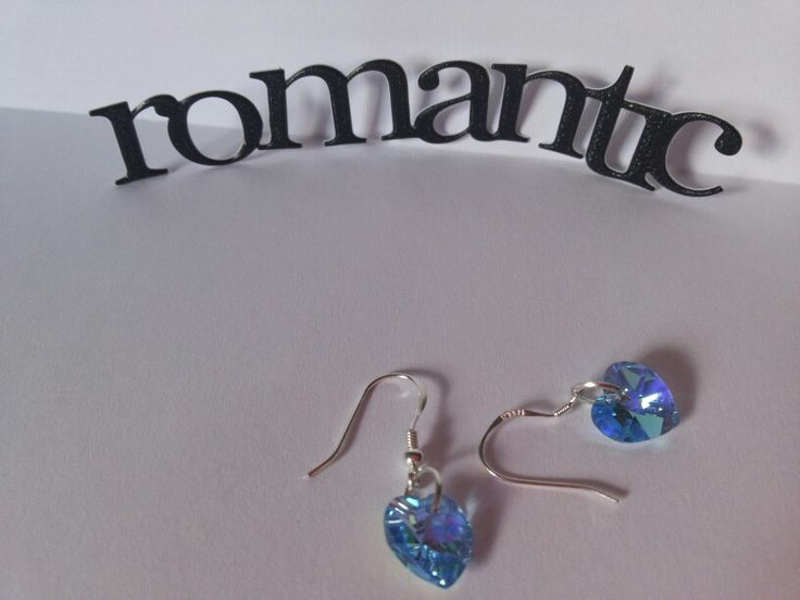 Aros de cristal. Romántico y delicado.