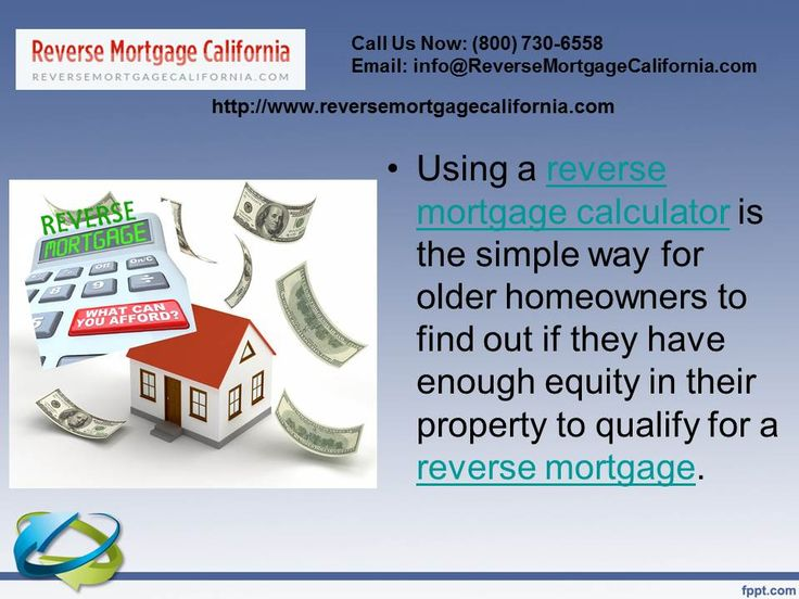 Using A Reversemortgage Calculator Is The Simple Way For Older