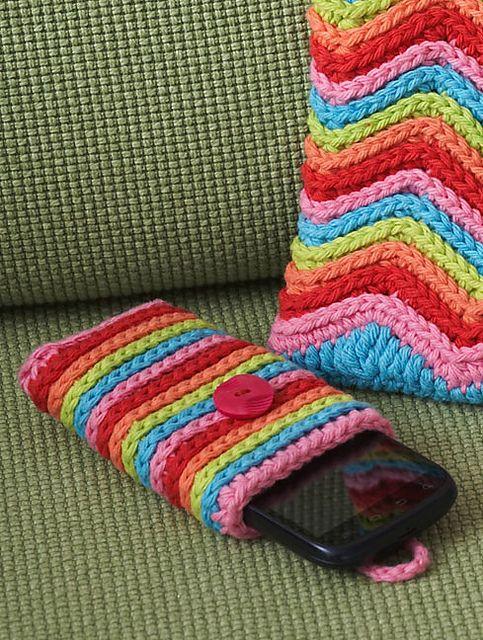76 besten DIY-Phone pocket Bilder auf Pinterest | Gehäkelte taschen ...