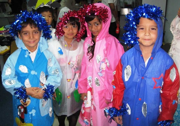 Students love dressing up and performing at our annual Arts Evening - human art works. (ACG Jakarta)