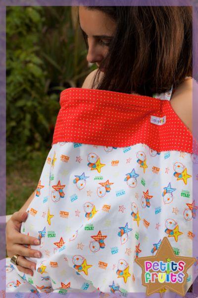 Nursing Cover - Petits Fruits - Little Star!