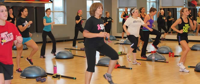 Group Fitness Instructor at the ISU Recreation Center