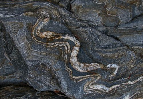 Metamorphic Rock Formation | Metamorphic Rocks are formed when one of the first two kinds of rock ...