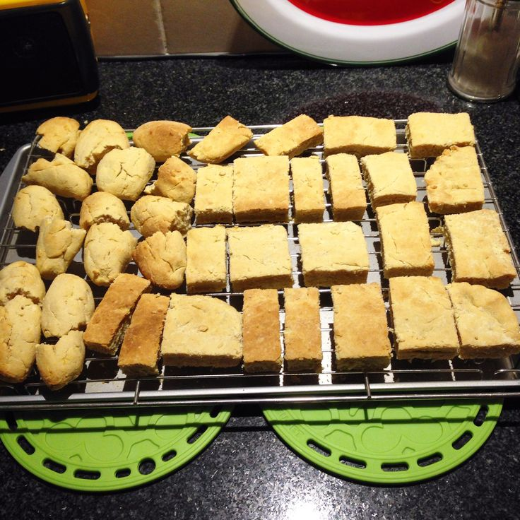 Buttermilk, gluten free rusks. but I'm allergic to dairy so i would use coconut cream or milk