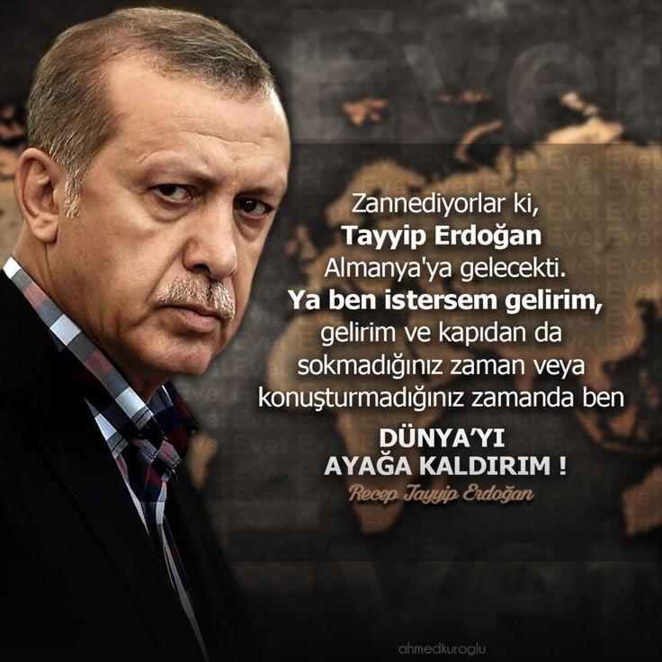 Recep Tayyip Erdoğan - Almanya Ders