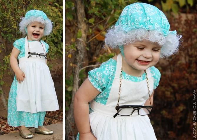 DIY Clothes Refashion: DIY Halloween Costumes  (from Little Red Riding Hood)