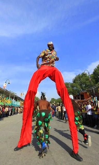 """Carnaval des Fleurs"" 2012 in Port-au-Prince, Haiti"