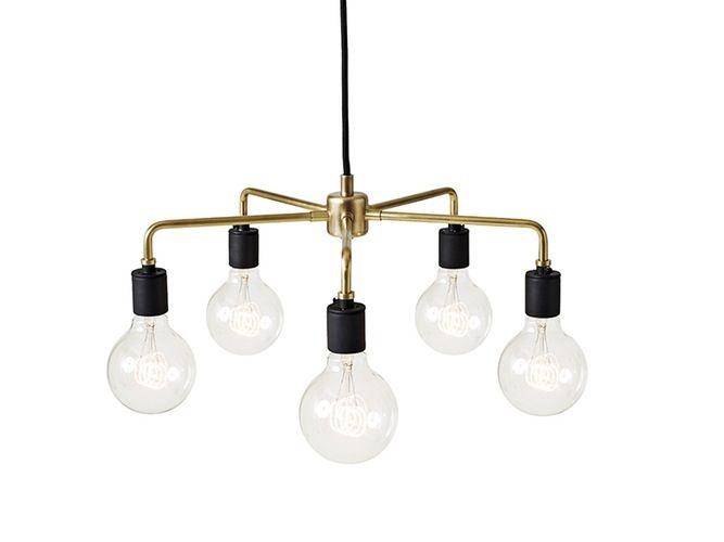 Leonard Chandelier Den danske, New York-baserte designeren Søren Rose, har tegnet en serie lamper for Menu. Tribeca-serien, og dermed også Leonard Chandelier, er inspirert av estetikken som rådet på 30-tallet i New York, nærmere bestemt i området Lower West Manhattan. 3889 kr