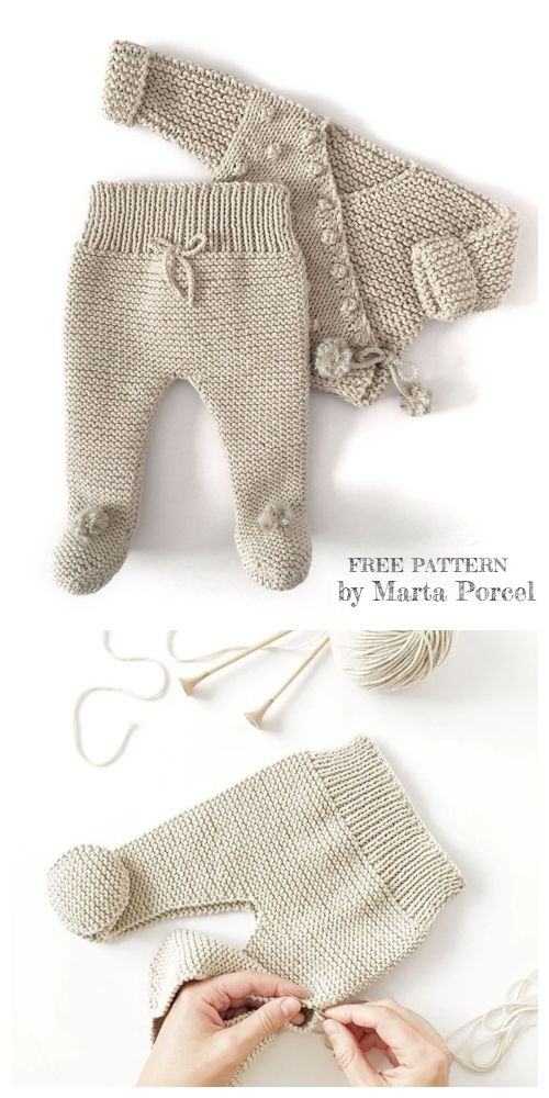 Free Pattern This Newborn Set Is Adorable You Won't Believe