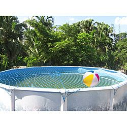 Safety net for above ground pool