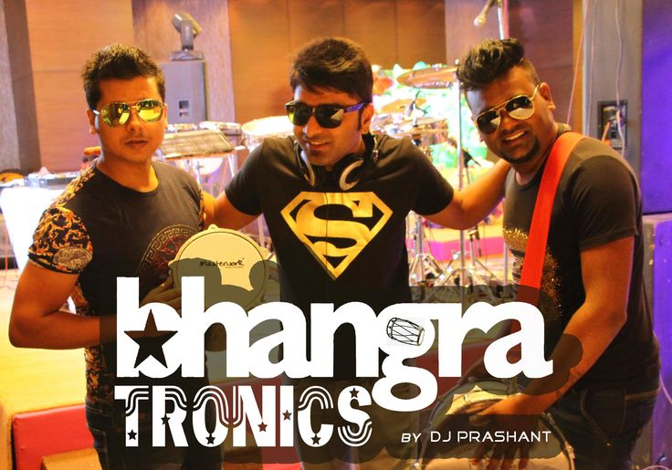 Bhangra Tronics is a professional DJ based out of the capital city of India, New Delhi. It is a jugalbandi concept of DJ and percussions (dhol).  Prashant plays the most popular and the best of almost all genres like Bollywood, Punjabi, Sufi, Retro, House, English and commercial club tunes jamming along with a LIVE percussionist who plays a blend of various instruments from around the world and creates new sounds from tabla, dhol, djembe, darbouka, drum kit, pads, and hand percussions.