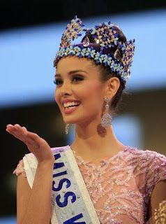 Miss World and Miss Universe Pageant History | Boolger