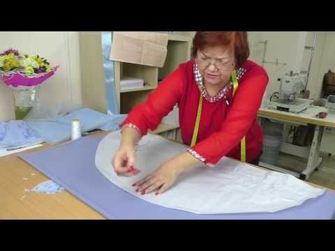 Нарядное платье для девочки ЧАСТЬ 3 раскрой многослойной юбки