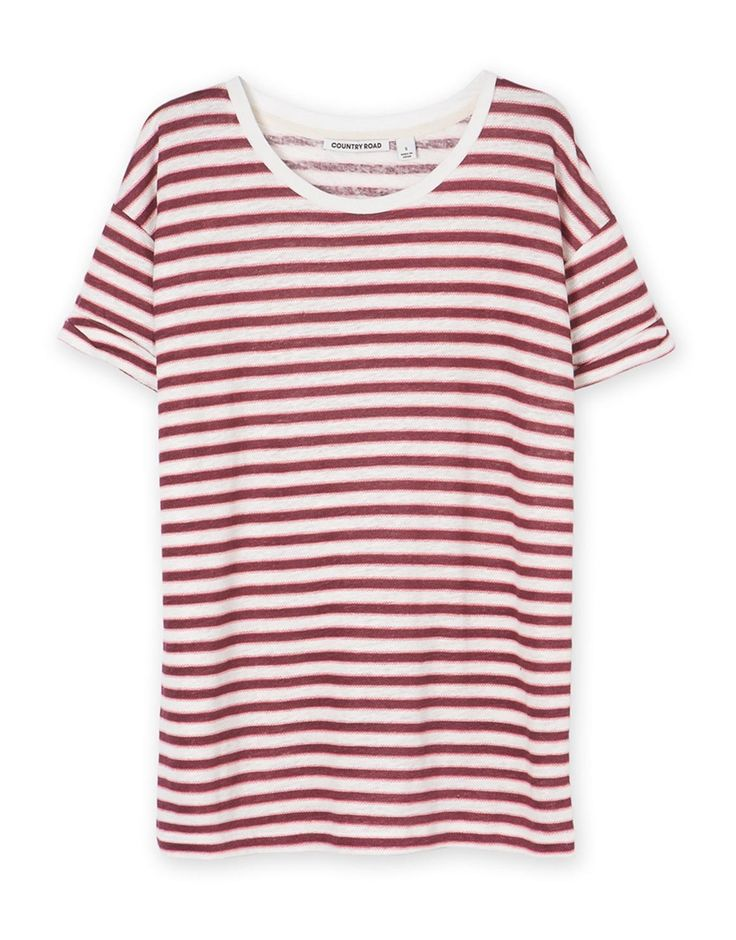 Zig-Zag Stripe T-Shirt