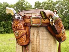 Cowboy / Western Style Leather Holster : Stuff you are going to need