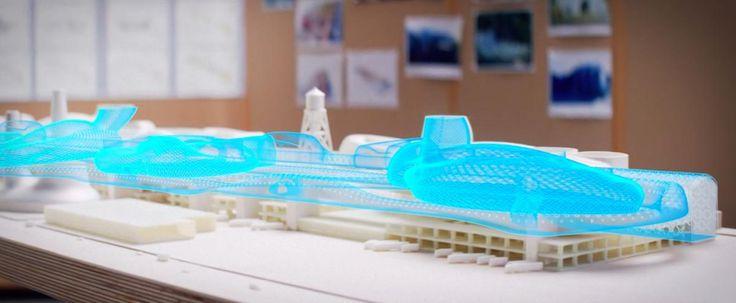 Greg Lynn transforms Detroit car factory with Microsoft HoloLens at Venice Biennale