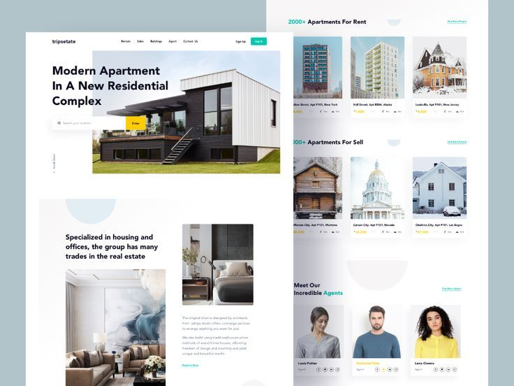 Real Estate Landing Page In 2020 Real Estate Landing Pages Real Estate Web Design Real Estate
