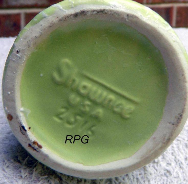 Shawnee Pottery Marks