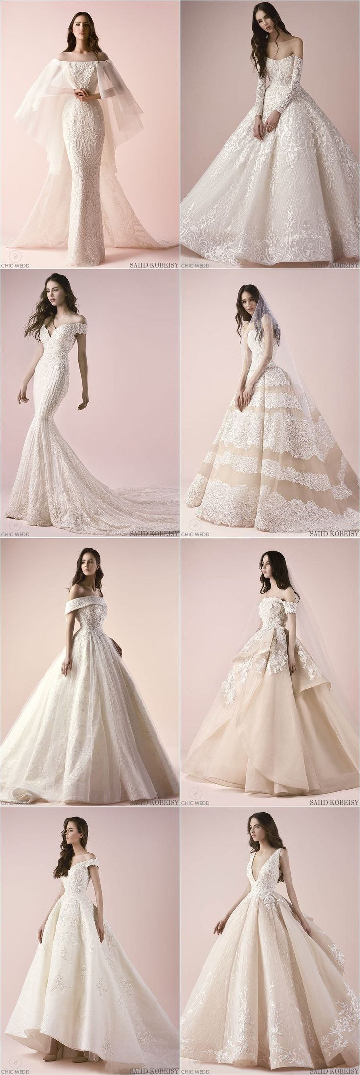 Saiid Kobeisy 2018 Wedding Dress Collection – #Collection #dress #girl #Kobeisy …