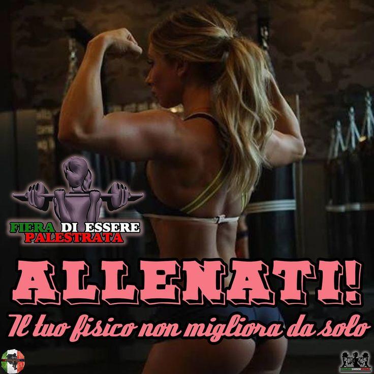 Allenati! Il tuo fisico non migliora da solo  ItalianShredStyle  Il fitness al femminile. Pagina Facebook: http://ift.tt/28TtDw8 #italianshredstyle #shredstyle #palestrata #malatadipalestra #malatadighisa #passionepalestra #pazzadipalestra #ragazza #ragazzapalestrata #glutei #gambe #squat #palestra #motivazione #motivazionale #ghisa #italia #culturista #fitnessgirl #ragazzafitness #bikini #bikinifitness #ragazze #palestrate #pazzedipalestra #malatedipalestra