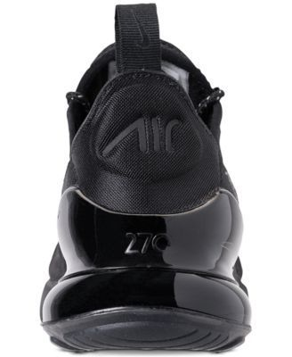 Nike Boys  Air Max 270 Se Casual Sneakers from Finish Line - Black 4   Sneakers f9b4cde06d